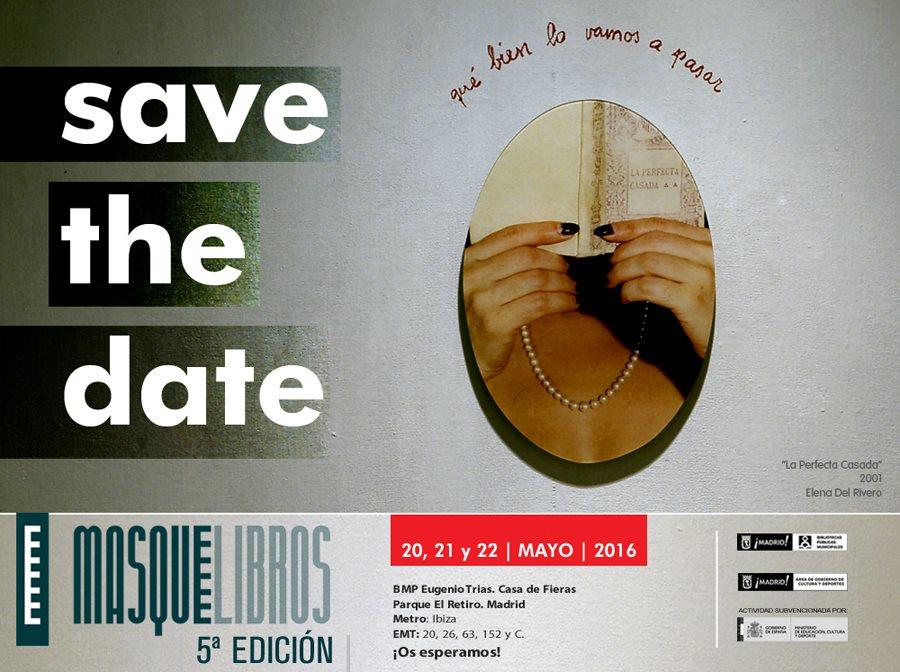Feria de Libros de Artista MASQUELIBROS 2016