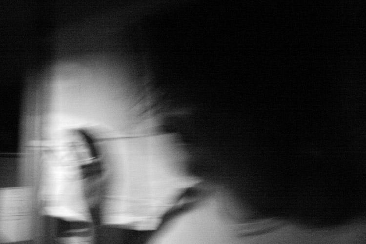 'Serie negra', Fotografía digital B/N sobre papel algodón. 50 x 33 cm