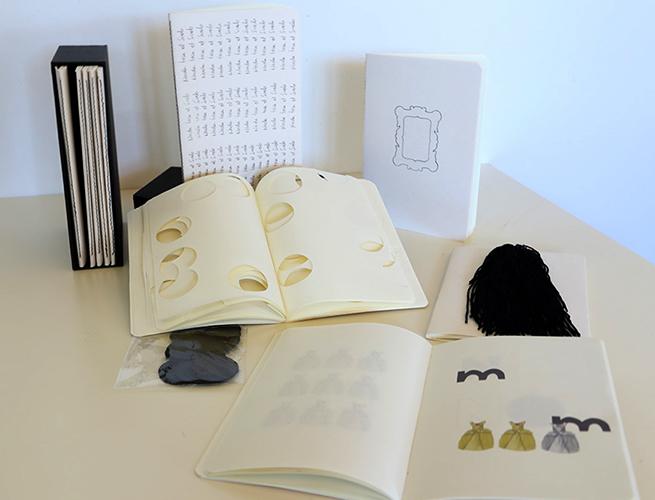 Exposición individual Libros de Artista